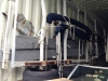 Boat inside container 10