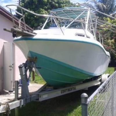 1999 Chris Craft Yamaha 225 twins boat 25ft