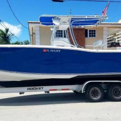 2007 SEA PRO 27ft 2mercury verado supercharger