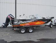 20` STARCRAFT STX ALUMINUM FISHING BOAT FRESHWATER ONLY ZDT