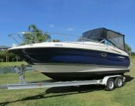 HERE IS A BEAUTIFUL, LOW HOUR BOAT 2006 MONTEREY 250