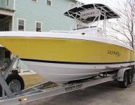 23` DONZI 23 ZF SPORT FISHING BOAT W/ TRAILER INCLUDED 596