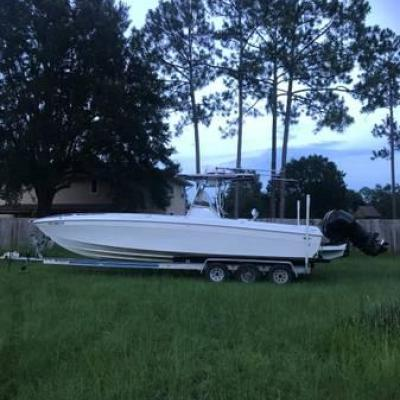 1996 WELLCRAFT SCARAB 302 32' OFFSHORE FISHING BOAT