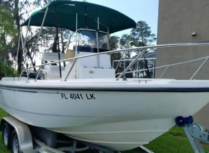 2000 BOSTON WHALER 18 OUTRAGE
