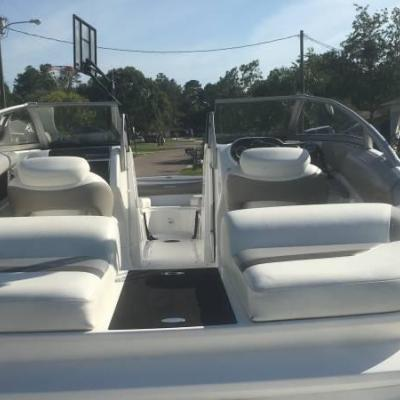 2009 SEA DOO CHALLENGER 230 SE   510 HP WITH TRAILER