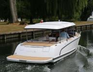 ALFASTREET - NEW 23 CABIN PRESTIGE LINE FULLY ELECTRIC WITH 10 KW ENGINE
