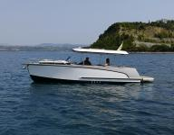 ALFASTREET - 23 CABIN PRESTIGE LINE FULLY ELECTRIC WITH 10 KW ENGINE