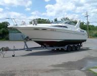 1993 Sea Ray 300 Sundancer with Tri-axle Trailer